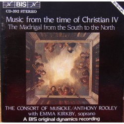 Music from the time of Christian IV. The Consort of Musicke. 1 CD. BIS
