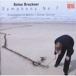 Anton Bruckner Symphony no. 7. Otmar Suitner, Berlin Staatskapelle. 1 CD. Berlin Classics. New Copy