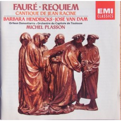 Faure: Requiem. Barbara Hendricks, Jose van Dam. Michel Plasson. 1 CD. EMI
