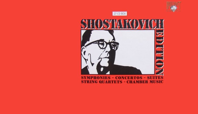 Shostakovich box 27 CD